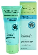 Collective Wellbeing - Weightless Daycream For Face with Chamomile & Aloe Vera Unscented - 2 oz.