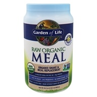 Garden of Life - RAW Meal Organic Shake & Meal Replacement Vanilla - 33.5 oz.