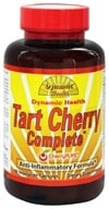 Dynamic Health - Tart Cherry Complete with CherryPURE Anti-Inflammatory Formula - 60 Vegetarian Capsules