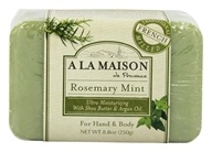 A La Maison - Traditional French Milled Bar Soap Rosemary Mint - 8.8 oz.