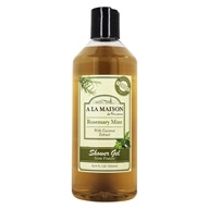 A La Maison - Traditional French Milled Bath & Shower Liquid Soap Rosemary Mint - 16.9 oz.