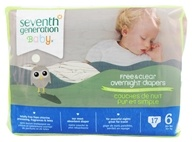 Seventh Generation - Overnight Diapers Stage 6 (35+ lbs.) - 17 Diaper(s)