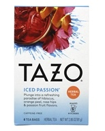 Tazo - Iced Passion Tea - 6 Tea Bags