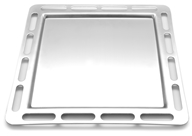 EcoQue - Portable Griddle Stainless Steel - 12 in.