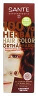 Sante - 100% Herbal Hair Color Chestnut Brown - 3.5 oz.