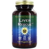 HealthForce Nutritionals - Liver Rescue 5+ - 120 Vegetarian Capsules
