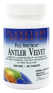 Planetary Herbals - Antler Velvet Full Spectrum 250 mg. - 60 Tablets