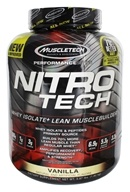 Muscletech Products - Nitro Tech Performance Series Whey Isolate Vanilla - 4 lbs.