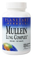 Planetary Herbals - Mullein Lung Complex 850 mg. - 90 Tablets
