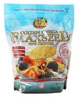 Premium Gold Flax Products - 100% Natural True Cold Milled Golden Flaxseed - 24 oz.
