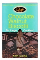 Pamela's Products - Biscotti Gluten Free Chocolate Walnut - 6 Pack