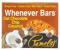Pamela's Products - Whenever Bars Oat Chocolate Chip Coconut - 5 x 1.41 oz. Bars