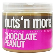 Nuts N More - Chocolate Peanut Butter - 16 oz.