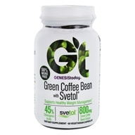 Genesis Today - Pure Green Coffee Bean Extract with Svetol - 60 Vegetarian Capsules