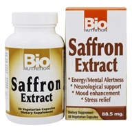 Bio Nutrition - Saffron Extract 88.5 mg. - 50 Vegetarian Capsules