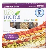 Two Moms in The Raw - Gluten Free Organic Granola Gojiberry - 8 oz.