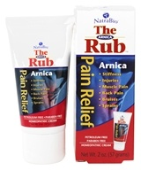 NatraBio - The Arnica Rub Homeopathic Pain Relief Cream - 2 oz.