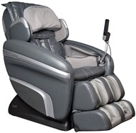 Osaki - Executive Zero Gravity S-Track Heating Massage Chair OS-7200HD Charcoal