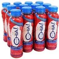 Drink Chia - Whole Omega-3 Superfood Drink Strawberry Citrus - 12 oz.