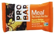 Pro Bar - Whole Food Meal Bar Original Collection Peanut Butter Chocolate Chip - 3 oz.
