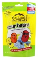 Yummy Earth - All Natural Gluten Free Sour Jelly Beans - 4 oz.