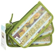 Blue Avocado - (Re)Zip Snack Reusable Storage Bags Kiwi Solid - 3 Pack