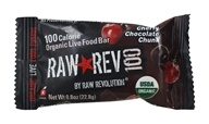 Raw Revolution - Organic Live Food Bar Raw Rev 100 Calorie Cherry Chocolate Chunk - 0.8 oz.