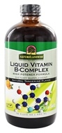 Nature's Answer - Liquid Vitamin B-Complex Natural Tangerine Flavor - 16 oz.