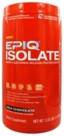 EPIQ - Isolate Rapid & Sustained-Released Protein Isolate Chocolate - 3 lbs.