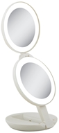 Zadro - LED Lighted Travel Mirrors LEDT01 Taupe