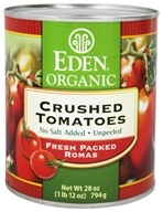 Eden Foods - Organic Crushed Roma Tomatoes - 28 oz.