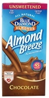 Blue Diamond Growers - Almond Breeze Almond Milk Unsweetened Chocolate - 32 oz.