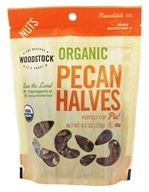 Woodstock Farms - Organic Pecan Halves - 4.5 oz.