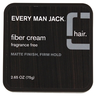 Every Man Jack - Fiber Cream Fragrance Free - 2.65 oz.