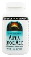 Source Naturals - Alpha Lipoic Acid 300 mg. - 120 Capsules