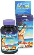 Natrol - Tropical Thin Weight Loss Plan - 60 Capsules