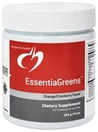 Designs For Health - EssentiaGreens Orange Cranberry Flavor - 285 Grams
