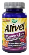 Nature's Way - Alive Women's 50+ Gummy Vitamins - 75 Gummies