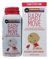 Wellements - Baby Move Prune Concentrate with Prebiotics - 4 oz.