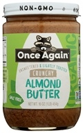 Once Again - Organic Almond Butter Lightly Toasted Crunchy - 16 oz.