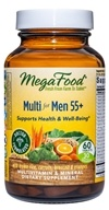 MegaFood - Men Over 55 Multivitamin - 60 Tablets