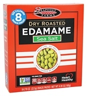 SeaPoint Farms - Edamame Dry Roasted Snack Packs Lightly Salted - 6.35 oz.