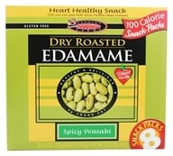 SeaPoint Farms - Edamame Dry Roasted Snack Packs Spicy Wasabi - 6.35 oz.