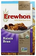 Erewhon - Organic Whole Grain Raisin Bran Cereal - 15 oz.