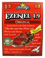 Food For Life - Ezekiel 4:9 Sprouted Whole Grain Cereal Original - 16 oz.