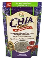 Healthy Natural Systems - Healthy Delights Chia Chews Tart Cherry - 30 Chews