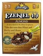 Food For Life - Ezekiel 4:9 Sprouted Whole Grain Cereal Almond - 16 oz.