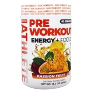 About Time - AUX Auxiliary Energy Pre Workout Formula Passion Fruit - 207 Grams