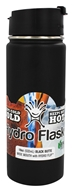 Hydro Flask - Stainless Steel Water Bottle Vacuum Insulated Wide Mouth Black Butte - 18 oz.