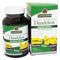 Nature's Answer - Dandelion Root Single Herb Extract - 90 Vegetarian Capsules
